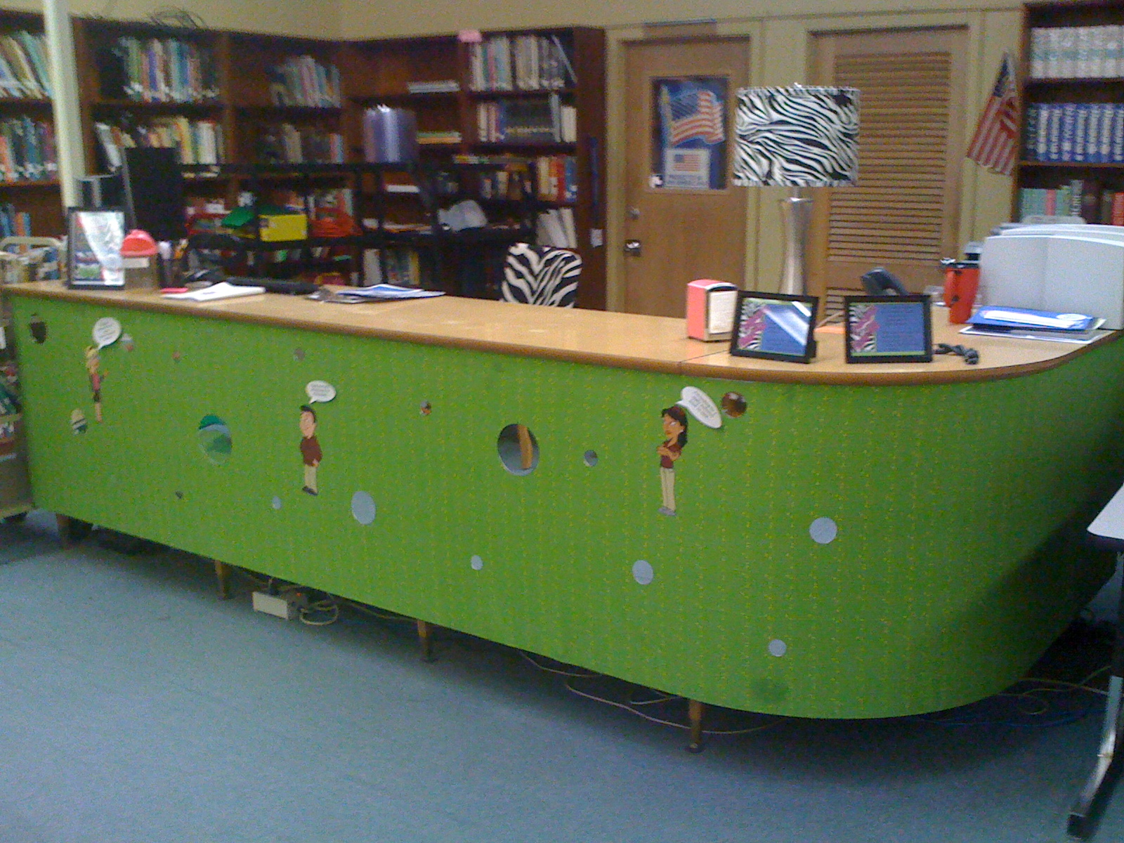 the - Library Christmas Decorations