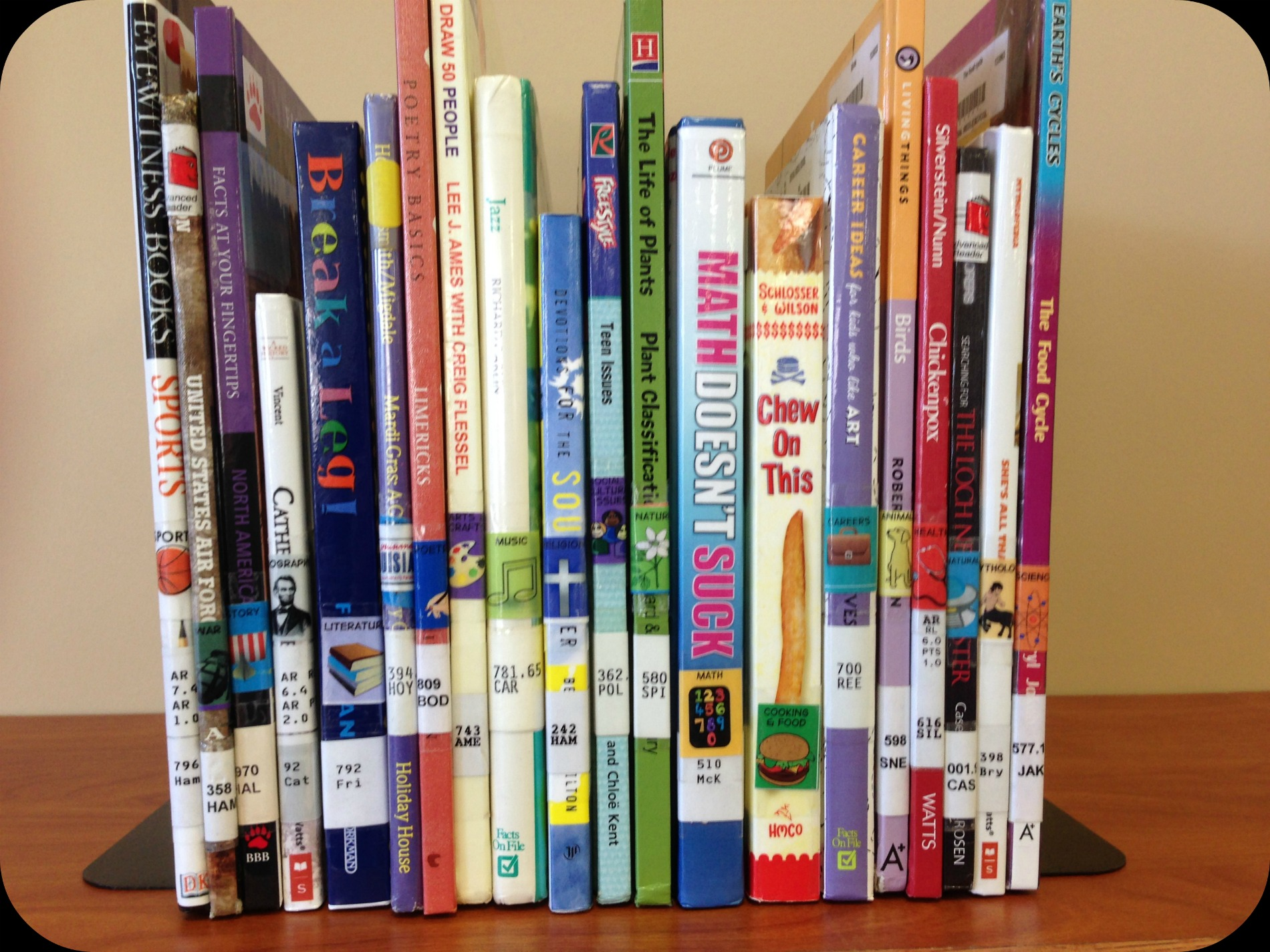 ditching dewey labeling the books mighty little librarian